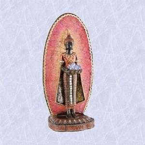 Sukhotai Buddha statue lamp light tranquil sculpture