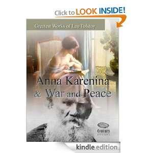 Greatest works of Leo Tolstoy Anna Karenina & War and Peace Leo