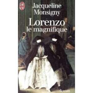 Lorenzo le magnifique (9782290048696): Jacqueline Monsigny