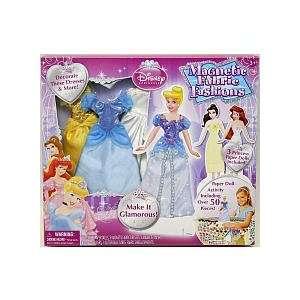 Disney Princess Magnetic Fabric Fashions Toys & Games