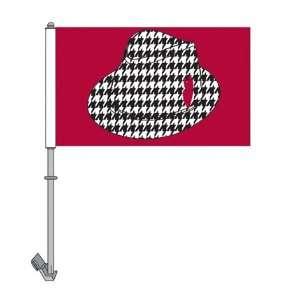 NEOPlex 2 sided College Car Flag   Alabama Crimson Tide