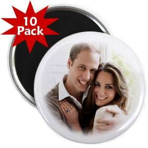 Prince William Kate Middleton Royal Wedding 10 Pack of 2