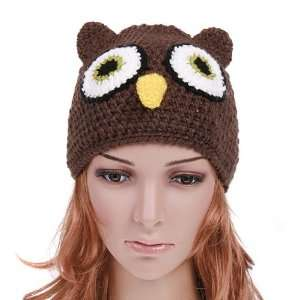 Owl Beanie Knit Cap Hat for Kids