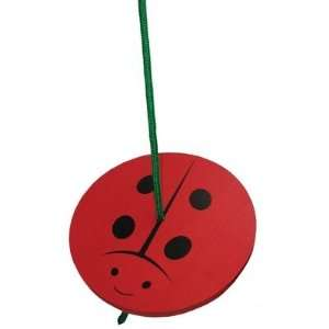 Sassafras 3810LB Kids Ladybug Tree Swing Toys & Games