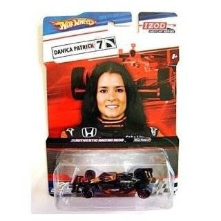 Hot Wheels Black Orange Izod Indycar Series Real Riders Danica Patrick