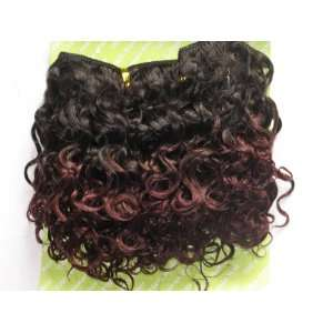 100% Human Hair Extensions JERRY CURLS T1B99J 5  *NEW