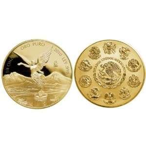 Mexico 2010 Libertad 1/4oz Gold Proof Coin Toys & Games