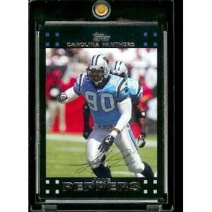 2007 Topps Football # 251 Julius Peppers   Carolina Panthers   NFL