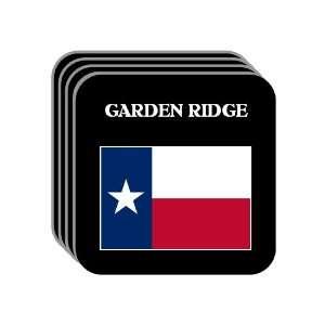 US State Flag   GARDEN RIDGE, Texas (TX) Set of 4 Mini