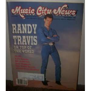 Music City News Magazine September 1989 Neil Pond Books