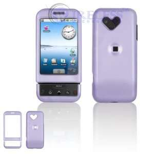 New Light Purple Solid Color Google G1 Android Cell Phone