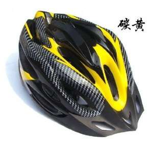 mountain bicycle helmet bike cycling helmet yellow