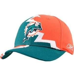 Reebok Miami Dolphins Aqua Youth Divide Hat
