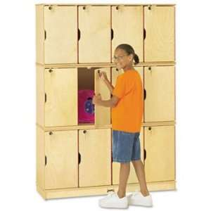 Jonti Craft Stacking Lockable Lockers LOCKER,STACKING,WTE