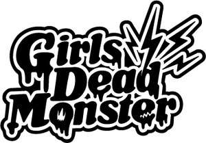 anime girls dead monster angel beats logo sticker decal
