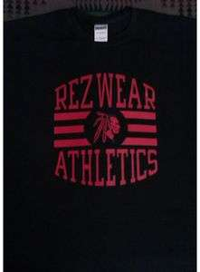 REZ WEAR ATHLETICS WithOut Rezervation Native American Pride clothing