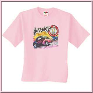 Nostalgia Hot Rod Antique Muscle Car Shirt S 3X,4X,5X