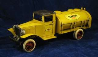 Pennzoil Fuel Delivery Tank Truck Replica/Model AVOID BIDDING WARS