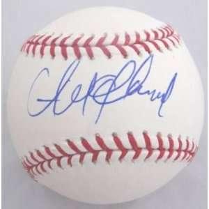 Andrew McCutchen Signed Baseball   OML PROOF COA