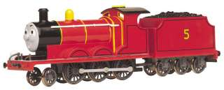 HO Thomas James the Red Engine (W/Moving Eyes)   New