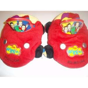 The Wiggles Big Red Car Slippers XL 11 12