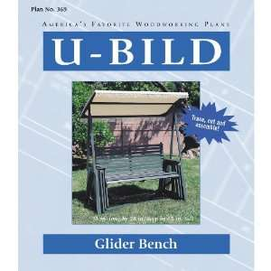 U Bild Glider Bench Woodworking Plan 369 Home Improvement