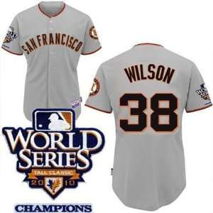 baseball jerseys san francisco giants 38 grey 2010 world