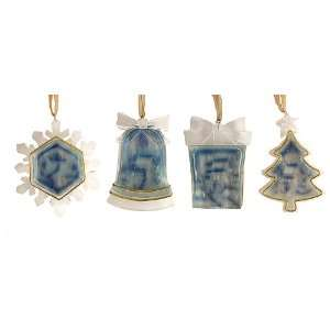 Club Pack of 12 Crystal Elegance Winter Scene Christmas