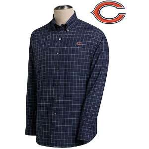 Cutter & Buck Chicago Bears Conference Plaid Shirt: Sports & Outdoors