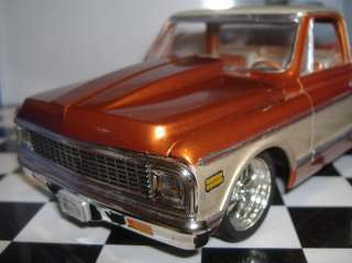 BRAND NEW 1/25 RESIN COWL HOOD FOR AMT 72 CHEVY PICKUP MODELS. MAY