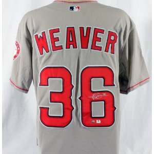 Jered Weaver Signed Authentic Cool Base All Star Jersey
