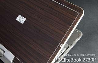 HP EliteBook 2730P Laptop Cover Skin   Camagon Wood