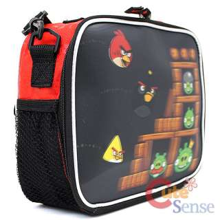 Rovio Angry Birds 3D School Lunch Bag Snack Bag 3