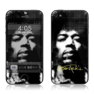 Apple iPhone 4 Vinyl Skin Sticker Case Jimi Hendrix Dot
