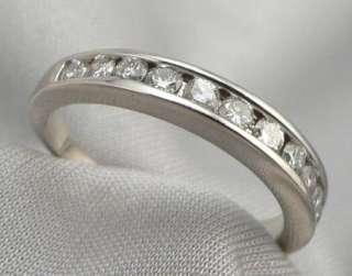 GOLD 0.50ctw 1/2ctw DIAMOND Wedding ANNIVERSARY RING Band 2.9g