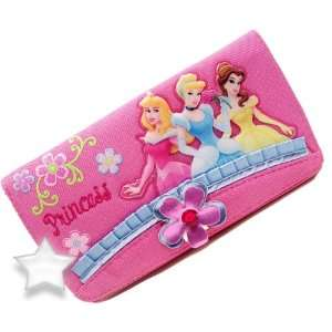 Disney Princess Wallet  Cinderella Belle Sleeping Beauty