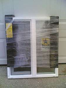 BRAND NEW Nice White VINYL House SLIDER WINDOW 25x29