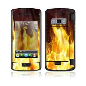 Furious Fire Decorative Skin Cover Decal Sticker for LG
