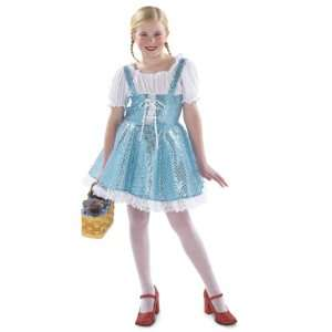 Princess Paradise Blue Sparkle Dress Child Costume / Blue   Size Large