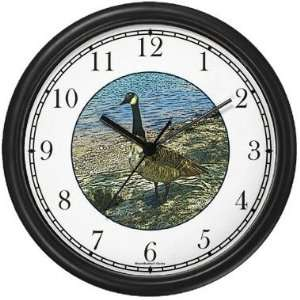 Canada / Canadian Goose Wall Clock by WatchBuddy