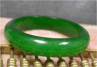 CHINESE Green JADE Bangle Bracelet 56 mm 906888