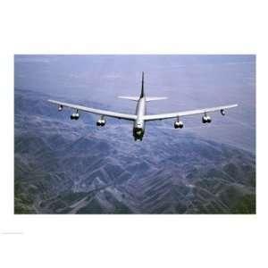 U.S. Air Force B 52 Bomber 24.00 x 18.00 Poster Print