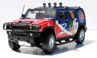 Highway 61 Chicago Cubs Diecast HUMMER Car / Truck 118