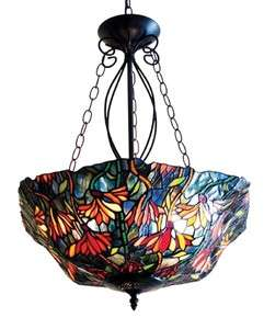 Marigold Hanging Pendant Stained Glass 21 Lamp Shade Ceiling Light