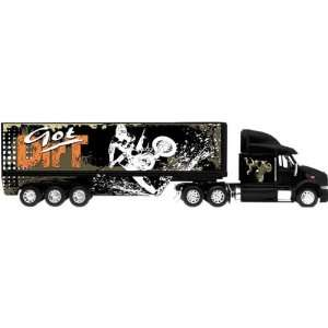 New Ray Volvo VN 780 Got Dirt Long Hauler Replica Truck
