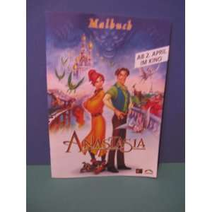 foreign mcdonalds toy german anastasia activity book