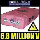 Canniks Black 8.8 Million High Volt Heavy Duty Stun Gun LED Light