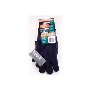 3 PACK THINSULATE ARCTIC FLEECE GLOVE, Color NAVY; Size