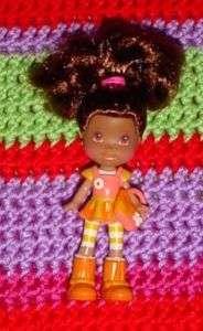 NEW STRAWBERRY SHORTCAKE TRU Exclusive ORANGE Mini Doll