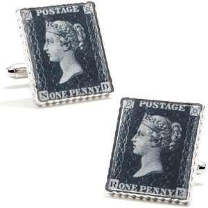 Penny Black 40 Replica Stamp Cufflinks